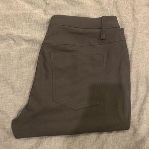 Men's Lululemon ABC Slim Pants - Black - Size 33